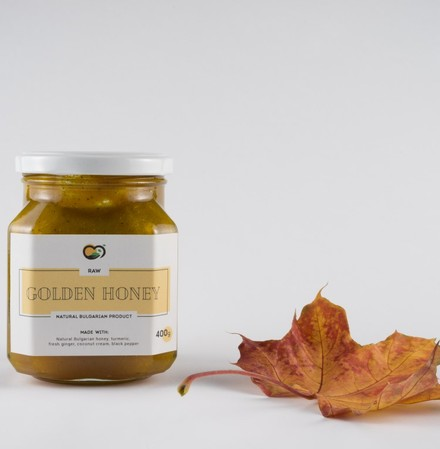 Turmeric Golden Honey - the most powerful natural antibiotic