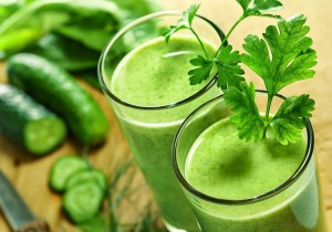 Зелен сок и течен зеолит